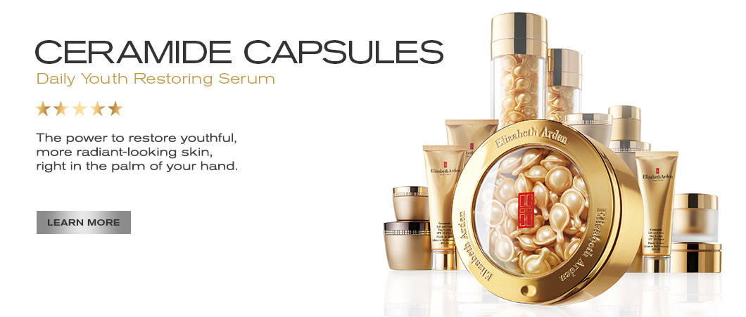 Elizabeth Arden Singapore : Face : Ceramide Anti-aging Skin care for all skin types