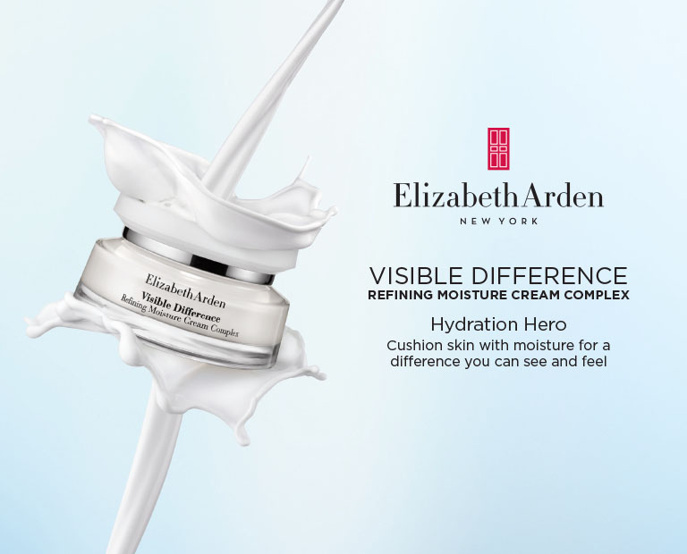 Elizabeth Arden Singapore : Visible Difference Spa-inspired skin care for all skin types